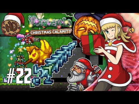 Terraria Christmas.Legendary Weapon First Try 1 Chance Bumblebirb