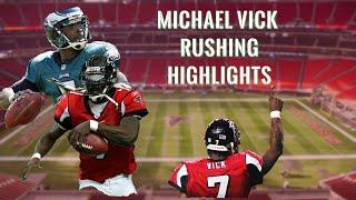 Michael Vick Best Running Plays | INSANE Rushing Highlights | Lamar Jackson of EARLY 2000's