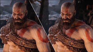God of War Graphics Comparison: PS4 vs. PS4 Pro