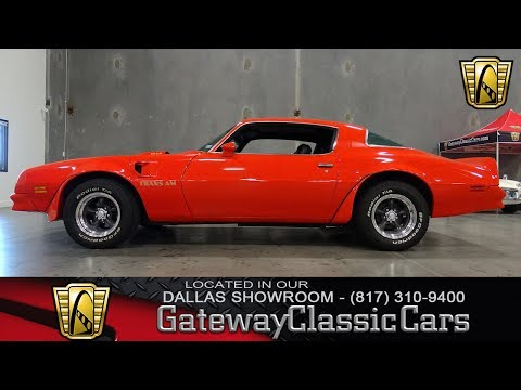 Video of '76 Firebird Trans Am - LDUV