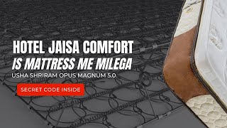 Pocket Spring & Memory Foam Mattress-Usha Shriram