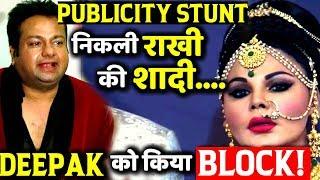Rakhi  Sawant Blocks Deepak Kalal on Social Media Rejects His Marriage Proposal