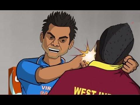 INDIA VS PAKISTAN SEMI FINAL-MASTERPLANE-MAUKA -FUNNY CARTOON BY COMEDY WHATSAPP KA FUNNDA