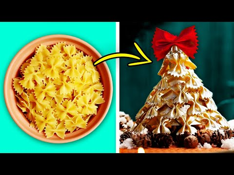 21 AMAZING CHRISTMAS DECORATIONS MADE FROM PASTA