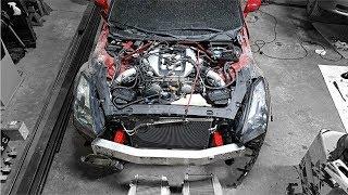 Totaled Nissan GT-R Rebuild - Part 7