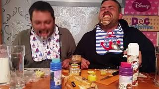 Mouth guard challenge  (Cornish Chuckle brothers )