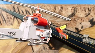 RESCUE MISSION ENDS IN DESTRUCTION! - Brick Rigs Multiplayer Gameplay - Lego Rescue Roleplay