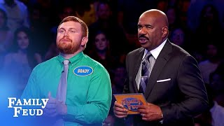 22 away from $20,000! One answer left! | Family Feud