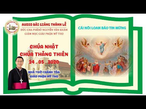 Đức Cha Phêrô suy niệm CN Chúa Thăng Thiên: CÁI NÔI LOAN BÁO TIN MỪNG