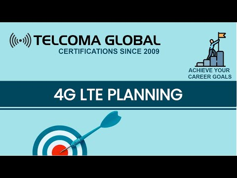 4G LTE Planning training course and certification by TELCOMA