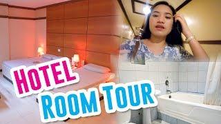 FIRST TIME!!! (SOGO Hotel Room Tour) 🍓 JoyOfMia