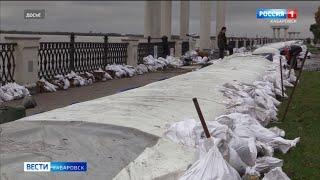 Специалисты оценили ущерб, который нанёс паводок набережной Хабаровска
