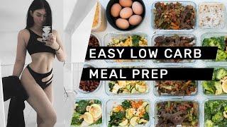 EASY LOW CARB MEAL PREP (gluten Free + Dairy Free) // Rachel Aust