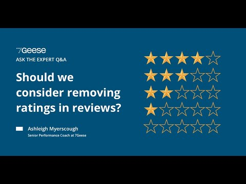 Do ratings have a place in performance reviews?