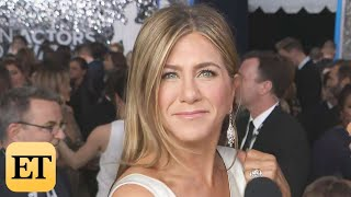 Jennifer Aniston on Brad Pitt Run-Ins at Awards Shows | SAG Awards 2020