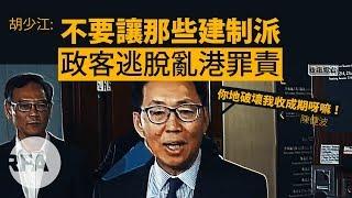 【胡少江評論】不要讓那些建制派政客逃脫亂港罪責