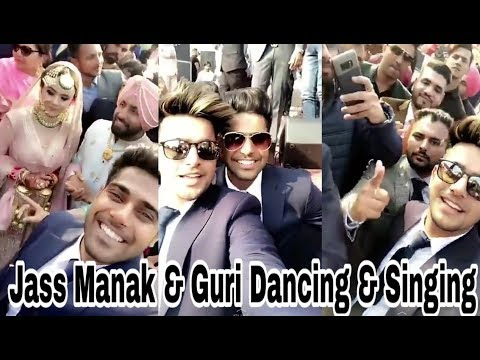 Jass Manak | Guri | Live Dancing & Singing In Wedding