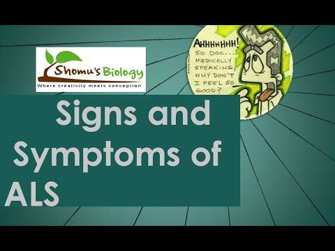 Video ALS symptoms
