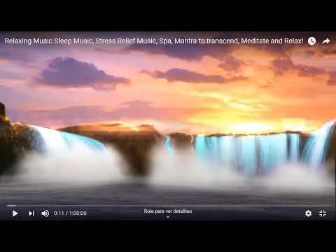 Relaxing Music Sleep Music, Stress Relief Music, Spa, Mantra to transcend, Meditate and Relax!