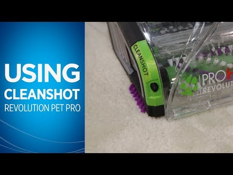 ProHeat 2X® Revolution™ Pet Pro Using Cleanshot Video