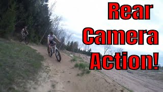 MTB Monday at Snowkraft #3 of 2018 - Rear Camera Action on the Singletrack!