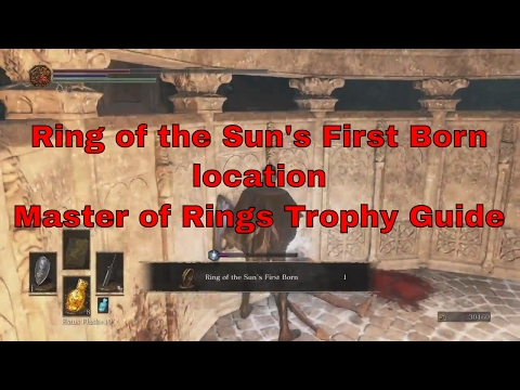 Dark Souls III - Ring Of The Sun's First Born Location [Master Of Rings Trophy]