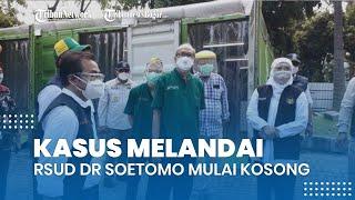 Sempat Alami Overload, IGD dan Triase IGD RSUD Dr Soetomo Mulai Kosong, Kasus Gejala Parah Melandai