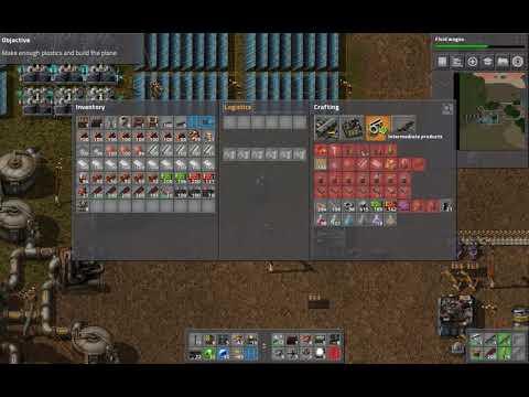 Can't build plane? :: Factorio Bugs & Technical Help