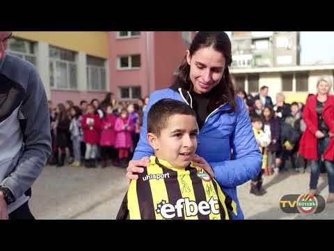 ВИДЕО: Еуфория в училище заради Ботев