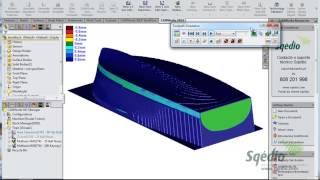 CamWorks 5 eixos - Caso prático de Fresagem com Disco