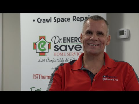 The Drying Co./ThermalTec is a Home Performance Contractor based in Toano, VA with a service area from Hampton Roads to the Greater Richmond area. President and Owner Steve Tetrault introduces the company and services including crawl space repair, attic insulation, and foundation repair.