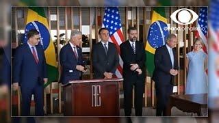 Acordo com os EUA renderá investimento de US$ 1 bilhão no Brasil