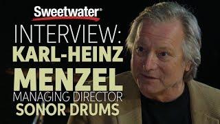 Interview With SONOR Drums Managing Director, Karl-Heinz Menzel