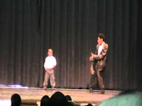 Michael Jackson Billie Jean Tribute- Eugene and kid Tyson