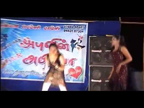 Latest Tamilnadu Village Record Dance Video / Tamil Adal Padal 2015