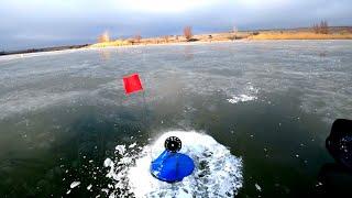 Рыбалка по первому льду 2019