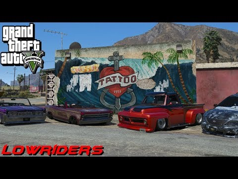 GTA 5 ROLEPLAY - Scrapping GTA Lowriders EP. 22
