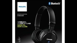 Philips SHB5500 Unboxing and review 40 dollers headphones .