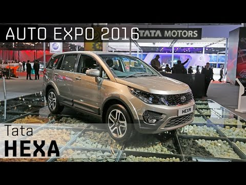 Tata Hexa :: 2016 Auto Expo WalkAround Video :: ZigWheels