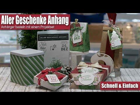 Projektset Aller Geschenke Anhang | Geschenkanhänger | Weihnachten | Stampin' Up!