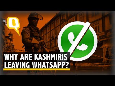 Kashmiris Speak On WhatsApp Accounts Being Deactivated | The Quint
