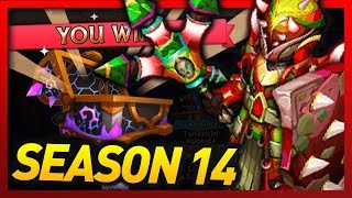 """Knights and Dragons - Leveling SF """"Tectonic Bulwark+"""" & LUCKY Season 14 Chest Opening!"""