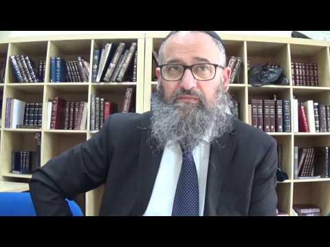 Rav Yonathan Benchetrit: On apprend la crainte d'Hachem des femmes