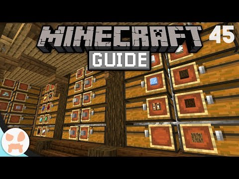 STORAGE BUILDING BASICS! | The Minecraft Guide - Minecraft 1.14.3 Lets Play Episode 45