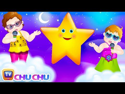 Twinkle Twinkle Little Star Rhyme with Lyrics - English Nursery Rhymes Songs for Children