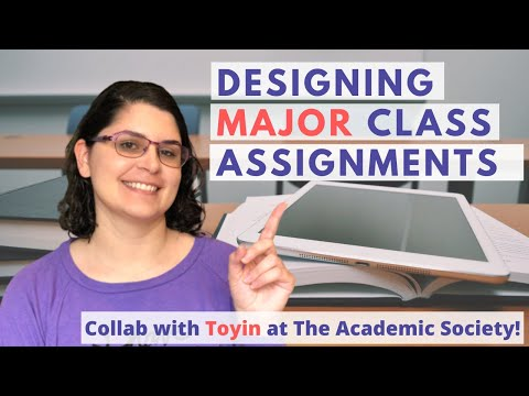 Creating Assignments for College Courses | Assignment Design ...