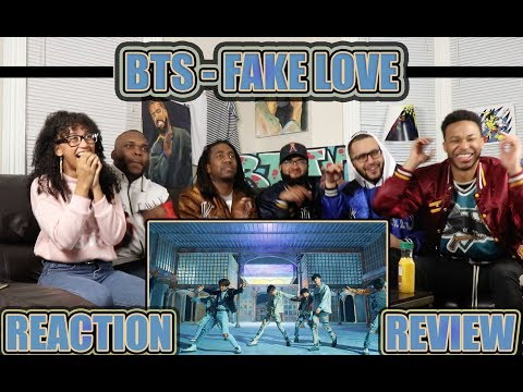 BTS 방탄소년단 'FAKE LOVE' Official MV REACTION/REVIEW (видео)