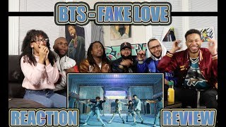 BTS 방탄소년단 'FAKE LOVE' Official MV REACTION/REVIEW