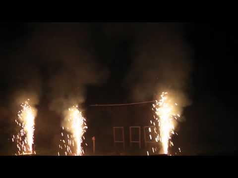 Barockfeuerwerk Familienfarm Lübars 13.07.12