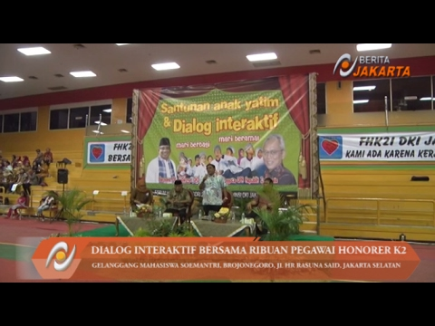 Sumarsono Gelar Dialog Interaktif Bersama Ribuan Pegawai Honorer K2